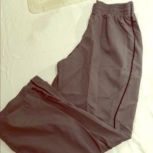Under armour L track pants